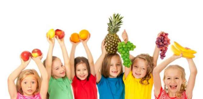 Fruits and children's intellect