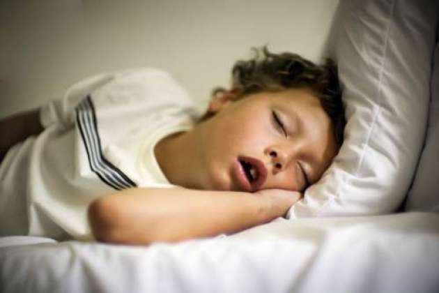 Photo of The obese children sleeping respiratory obstruction
