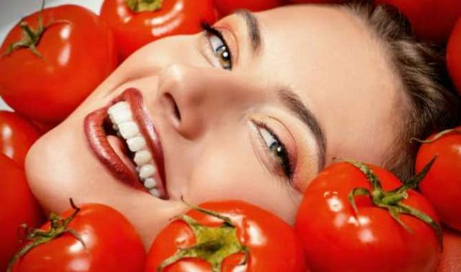 Increase the Beauty with Tomatoes