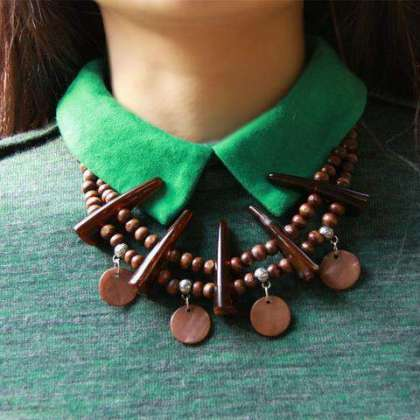 Photo of Wooden Ornaments New Fashion New Style